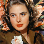 Ingrid Bergman A kiss is a lovely trick designed by nature to stop speech when words become superfluous