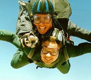 Glenn Louis Parker first Skydive 1995 Skydive Las Vegas