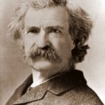Mark Twain Advertisements contain the only truths to be relied on in a newspaper
